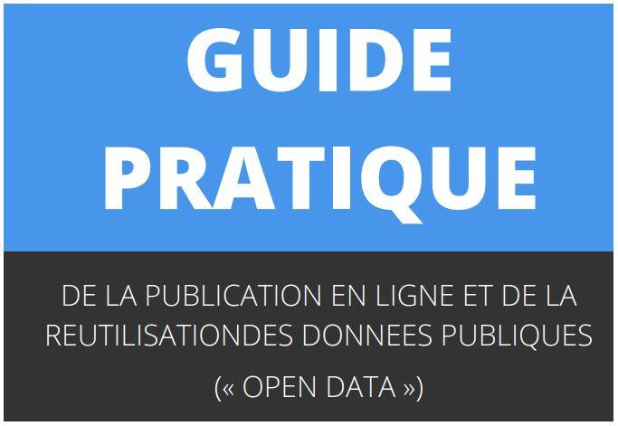 Consultation publique sur un guide dédié à l'open-data