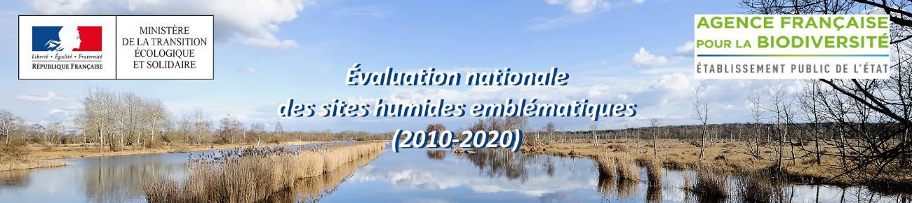 La campagne  d'évaluation des sites humides emblématiques 2010-2020 est lancée