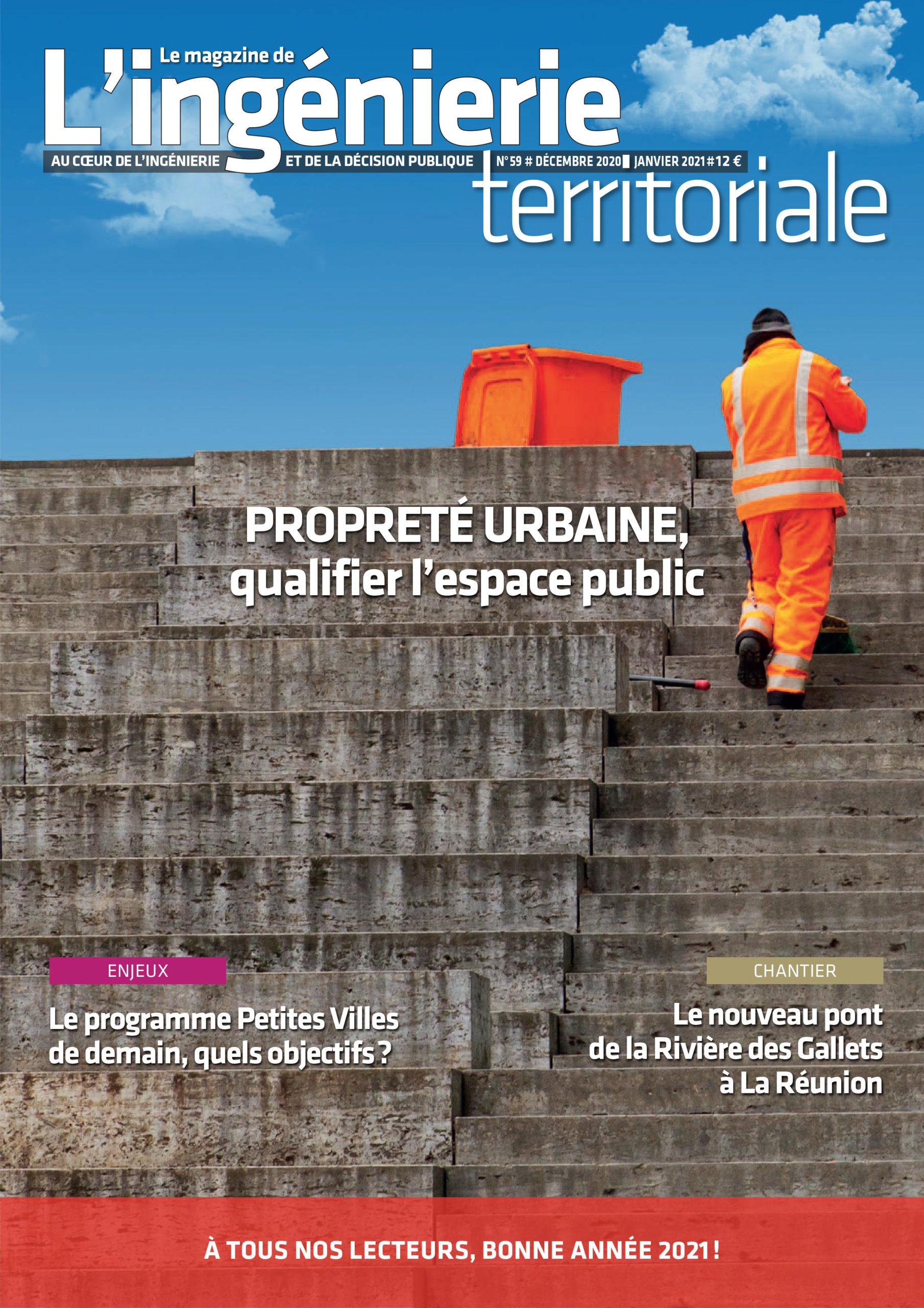 Ingénierie territoriale n°59 – Propreté urbaine, qualifier l'espace public