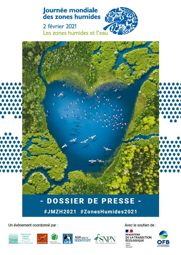 Dossier de Presse JMZH 2021 – Les Zones Humides et l'Eau