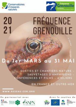 Fréquence Grenouilles 2021