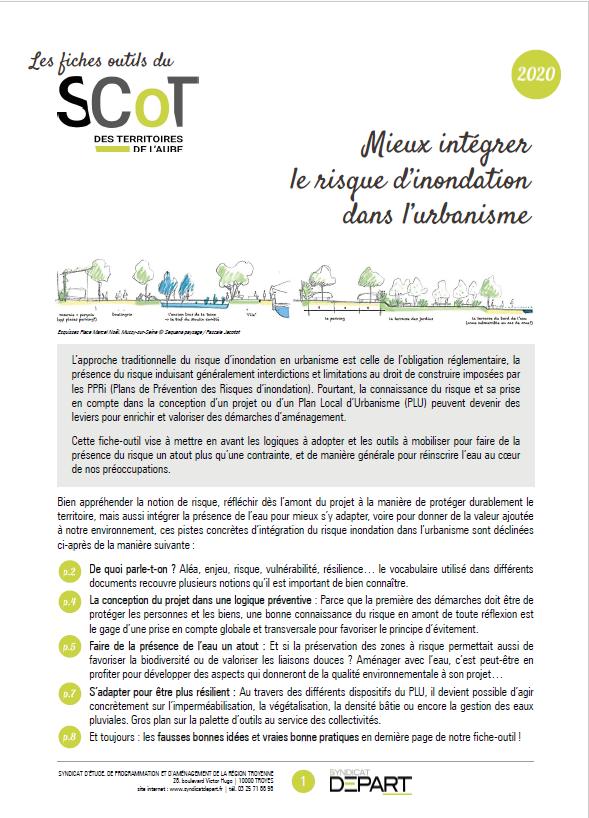 Mieux intégrer le risque d'inondation dans l'urbanisme