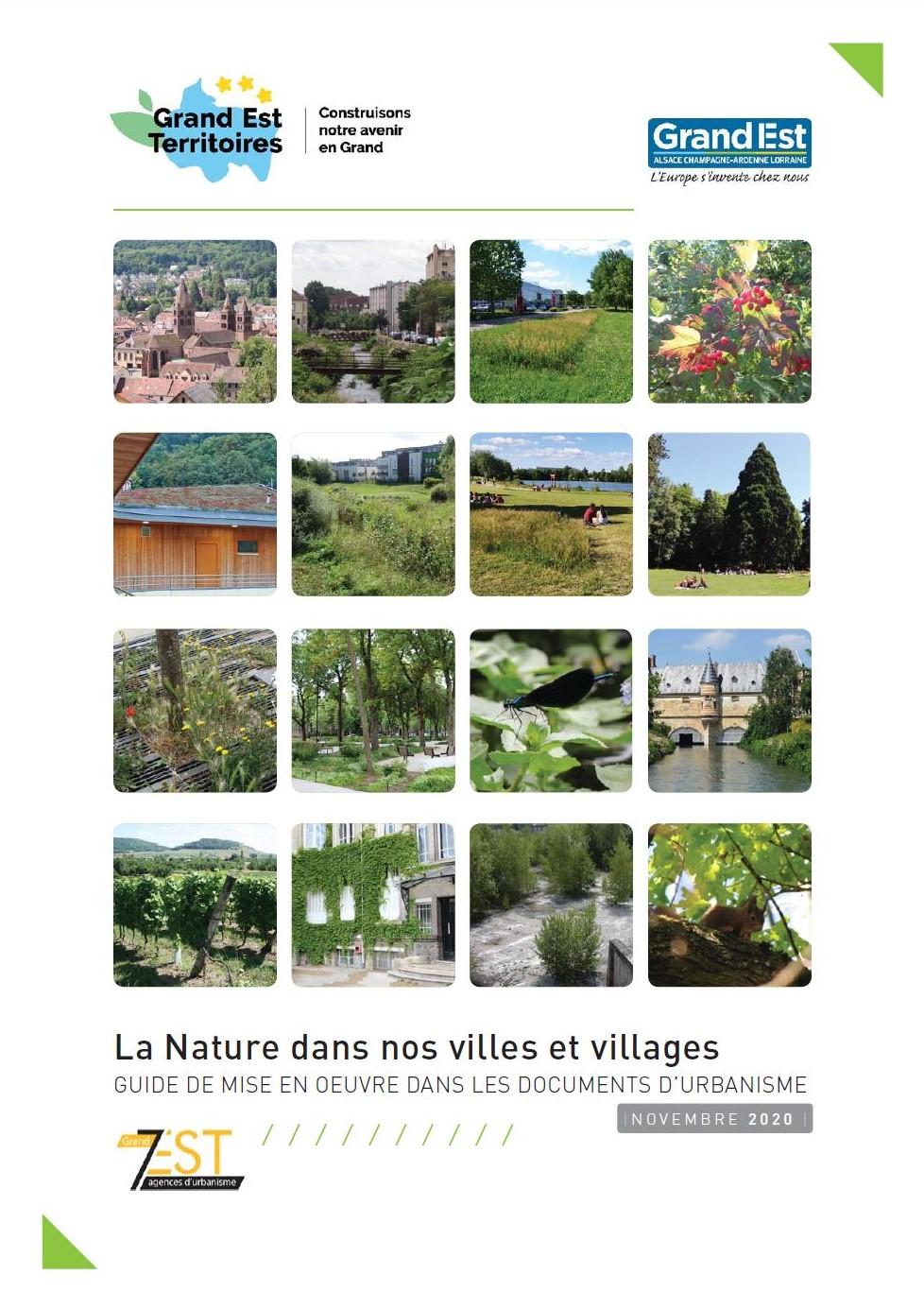 La Nature dans nos Villes et Villages, Guide de mise en œuvre dans les documents d'urbanisme