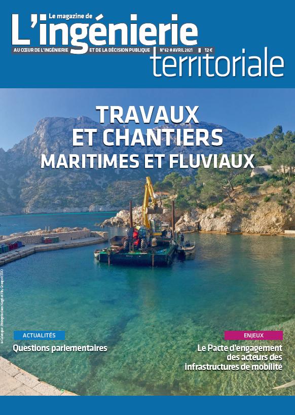 """Ingénierie territoriale n°62 – Dossier """"Travaux maritimes et fluviaux"""""""
