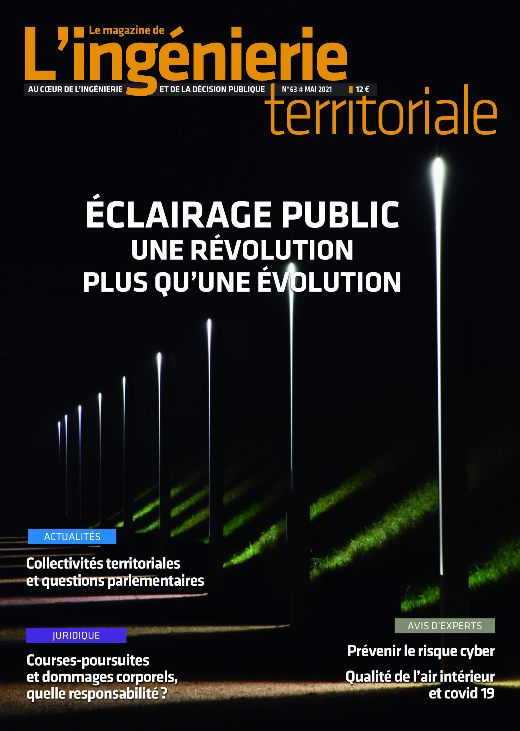"Ingénierie territoriale n°63 – Dossier ""Eclairage public"""