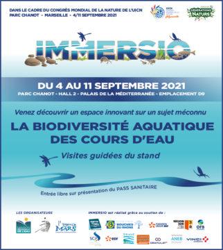 L'ANEB partenaire de l'Exposition IMMERSIO au Congrès mondial de la Nature à Marseille